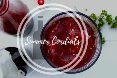 Delicious Summer Cordials (elderflower, gooseberry, blackcurrant & mint)
