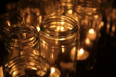 Candle in a jar (the perfect valentine's day gift)