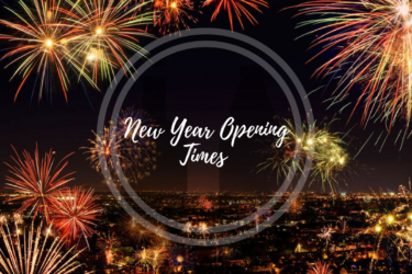 New Year Opening Hours:
