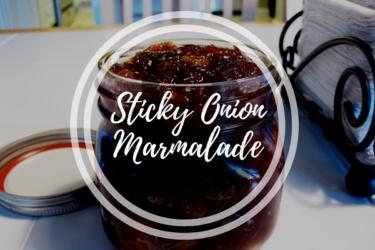 Delicious Sticky Onion Marmalade