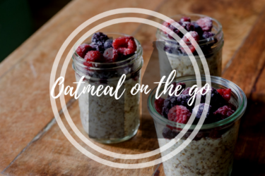 Delicious Oatmeal on the go