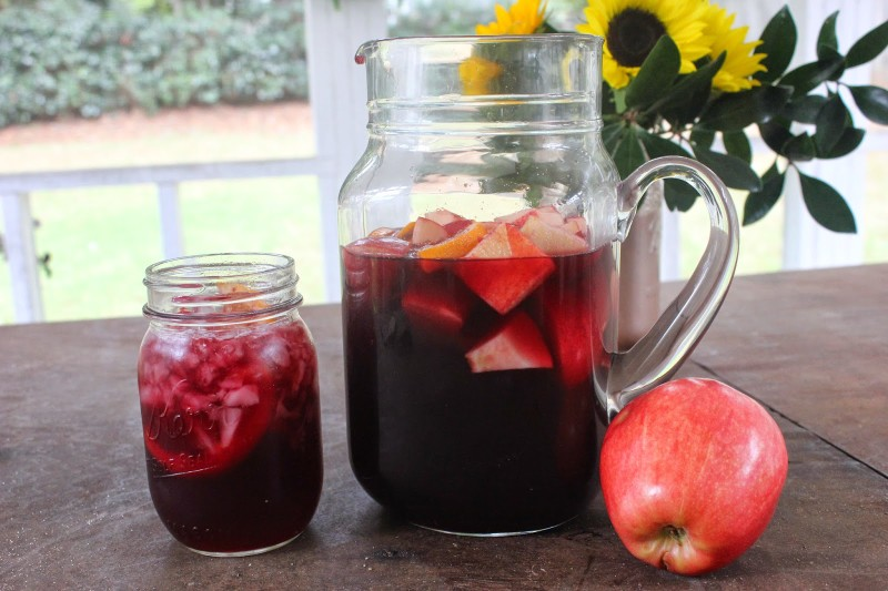 Red Wine Camper Sangria