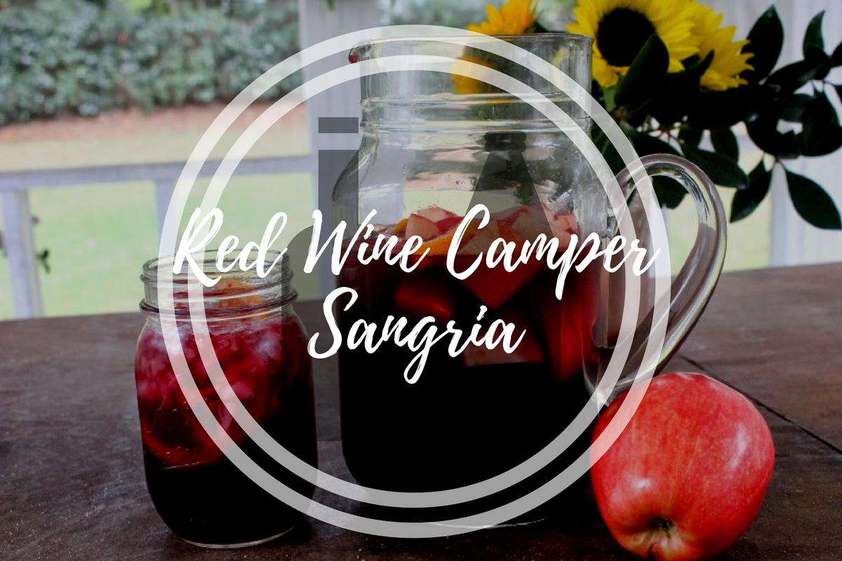 Red Wine Camper Sangria