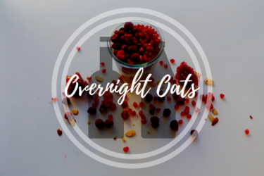 Delicious overnight oats with raspberry chia Jam in 3 Simple Steps