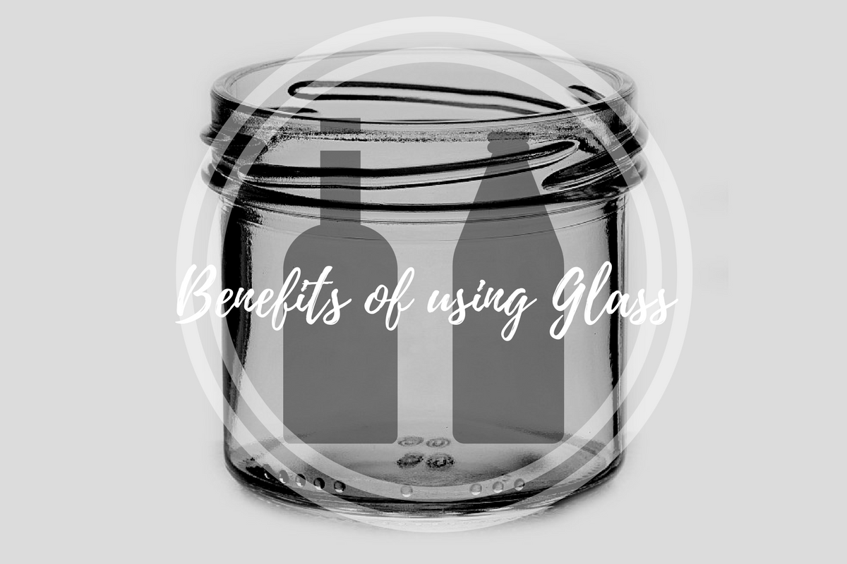 The benefits of using glass