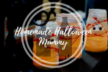 Homemade Halloween Mummy