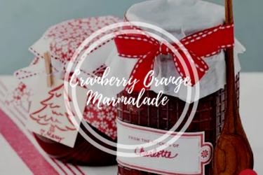 Festive Cranberry Orange Marmalade