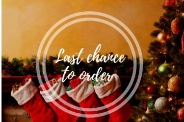 Last Chance to order before Christmas (3 Days Left )