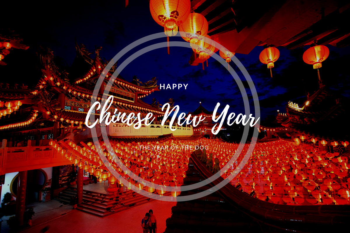 Happy Chinese New Year to all our customers